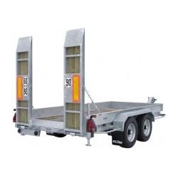Remorque Porte engins Ecim PEG.45.800 FR.