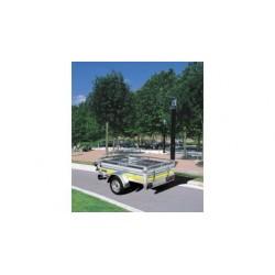 remorque Utilitaire roues extérieures TRELGO-FRANC RE 1301