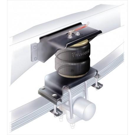 Renfort à air Firestone pour Ford Transist Pont Carré Traction avec ABS Roues simples 00/03.