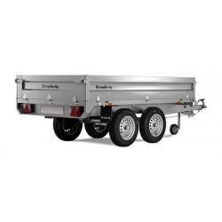 Plateau utilitaire roues dessous PTC 1500 kg Brenderup 4260TB.