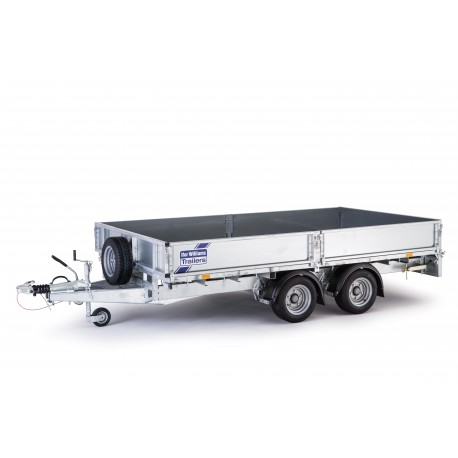Remorque plateau ifor williams LM167 G
