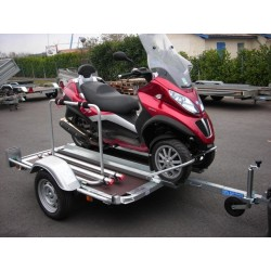 Remorque Porte scooter 3 roues mp3