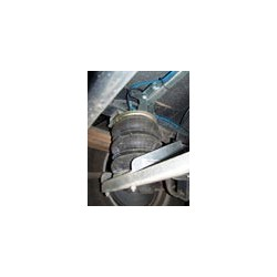 Renfort à air DUNLOP pour Fiat Iveco 4X4 avec 3 étages de coussins.