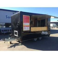 Remorque magasin Food truck.