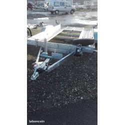 Remorque d'OCCASION porte voiture LIDER PTAC 2500KG