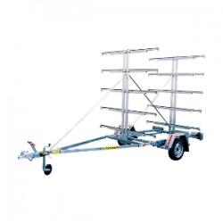Remorque pour canoës et kayaks MECANOREM PCK 455