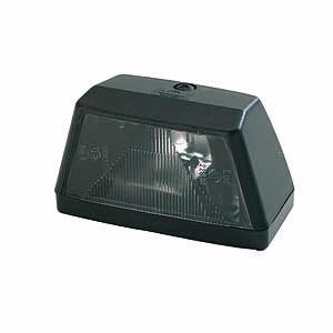 Feu éclaireur de plaque noir Rulquin 3429N