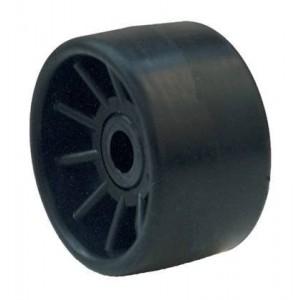 Galet Bi-matière noir Ø 100mm - L : 50mm Alésage: Ø 21mm