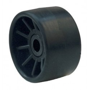 Galet 185 Polyamide Bi-matière noir Alésage Ø 21mm