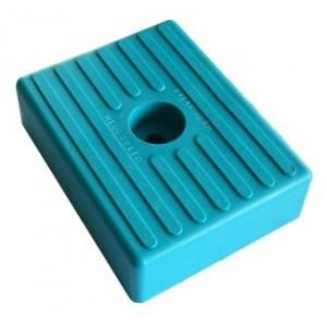 Patin PM 010 Turquoise Alésage : 1 x Ø 11