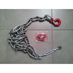 Kit 1 Chaîne sécurité spéciale Porte Engin