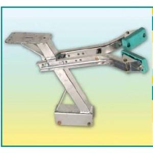 Porte treuil section 60x60 Hauteur 450 mm fixation 60x60 pour remorques Nautilus 401M