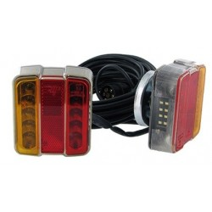 Kit Magnétique 2 feux LED pour remorques