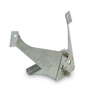 Support de roue de secours pour remorque IFOR WILLIAMS Tipper, GD, TA5G et TA510G