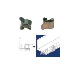 Clips de fixation de câble à tôle (x10) Ref 3220AB