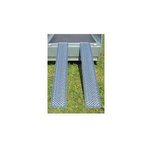 Rampe aluminium 1000 KG la paire.