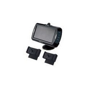 Vidéo de recul sans fil 2 Caméras