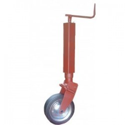 Roue jockey carré 70 relevable ref.270 61C ref.5165