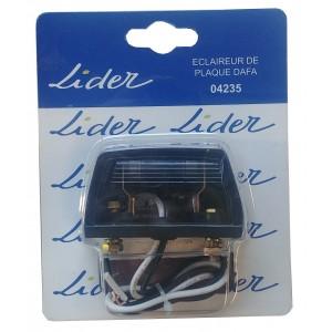 Feu LIDER éclaireur de plaque ref.: 04235