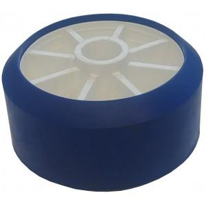 Galet Bleu SUN WAY 125x65 alésage 21mm