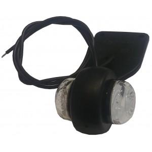 Feu de gabarit à LED 12/24V sur languette caoutchouc