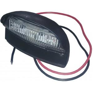 Feu éclaireur de plaque à LED