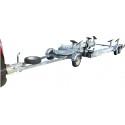 Chariot routier de manutention hydraulique porte bateau